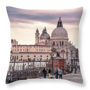 Photographers In Action Throw Pillow