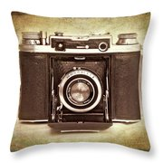 Photographer's Nostalgia Throw Pillow