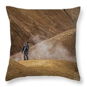 Photographers Searching For Composition V Throw Pillow