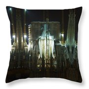 Photography Lights N Shades Sagrada Temple Download For Personal Commercial Projects Bulk Printing Throw Pillow