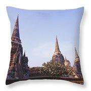Phra Si Sanphet Throw Pillow