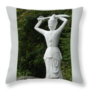 Phu My Statues 3 Throw Pillow