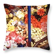 Flowers In Goa Throw Pillow