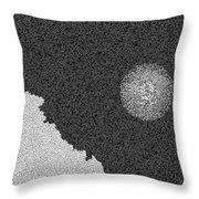 Piana's Calanches And Sun Throw Pillow