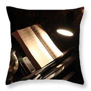 Piano Bar Throw Pillow