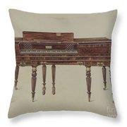 Piano Forte Throw Pillow