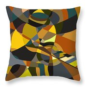 Pianoman Revisited Throw Pillow