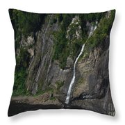 Little Falls Of Montmorency Throw Pillow