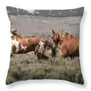 Picasso And Voodoo Throw Pillow