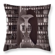 Picasso Chicago Bw Throw Pillow