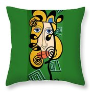 Picasso Influence Throw Pillow