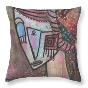 Picasso Inspired Throw Pillow
