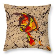Picasso Is To Twombly Throw Pillow