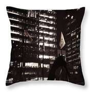 Picasso-lady Throw Pillow