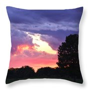 Picasso Sunset Throw Pillow
