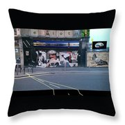 Picasso's Guernica In Glasgow, Scotland Throw Pillow