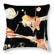 Picassos In Space Throw Pillow