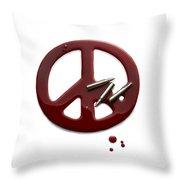 Peace Talks Throw Pillow