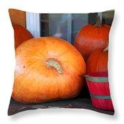 Pick A Pumpkin Throw Pillow
