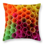 Pick A Straw Throw Pillow