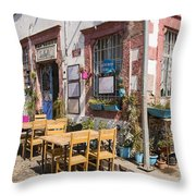 Pick A Table Throw Pillow