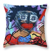 Pickaninny Tears Throw Pillow
