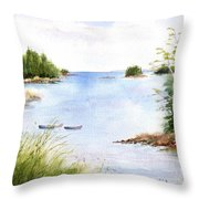 Pickering Cove Throw Pillow