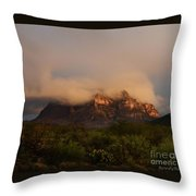 Picket Post Sun Ray Clouds Throw Pillow