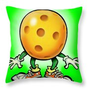 Pickleball Throw Pillow