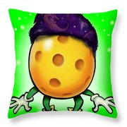 Pickleball Wizard Throw Pillow