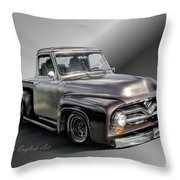 Pickup Named Penny Throw Pillow
