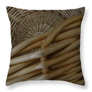 Picnic Basket Throw Pillow