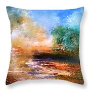 Picnic Dream Throw Pillow