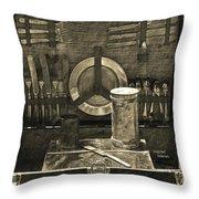 Picnic Pastime Throw Pillow