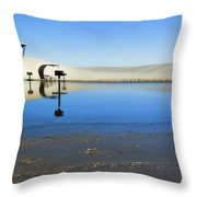 Picnic Reflections-one Throw Pillow