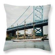 Picon Castle Throw Pillow