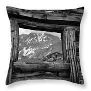 Picture Frame Throw Pillow