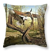 Picture Of Nature Throw Pillow
