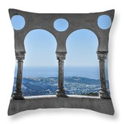 Picture On The Wall Throw Pillow
