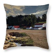 Picture Perfect Setting Throw Pillow