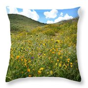 Picture Perfect Spring Throw Pillow