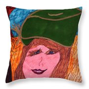 Picture Pose Throw Pillow