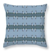 Picture Putty Puzzle 15 Throw Pillow