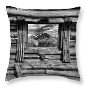Picture Window #3 Throw Pillow