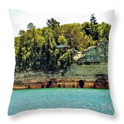 Pictured Rock 6323  Throw Pillow