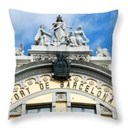 Picturesque Spain Throw Pillow