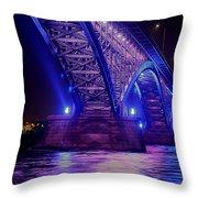 Piece Bridge Throw Pillow