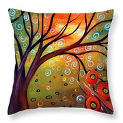 Piece Of Eden Throw Pillow