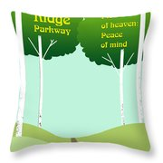 Piece Of Heaven Peace Of Mind Throw Pillow