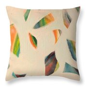 Pieces Throw Pillow
